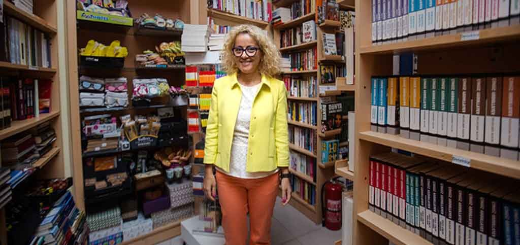 Nigyar Kocharli at her book project in Baku. Photo: EBRD