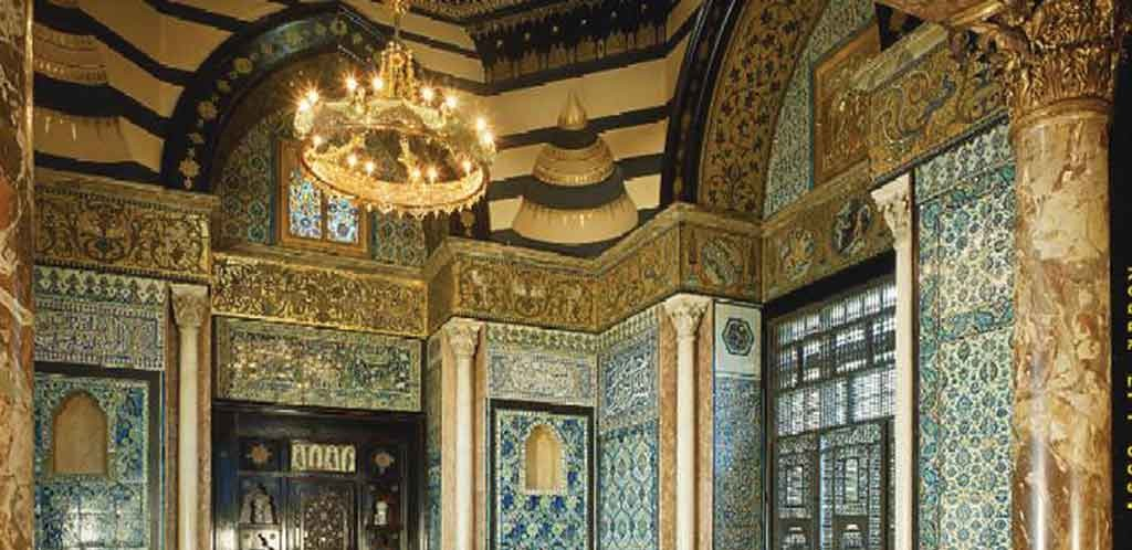 Arab Hall, Leighton House, London.