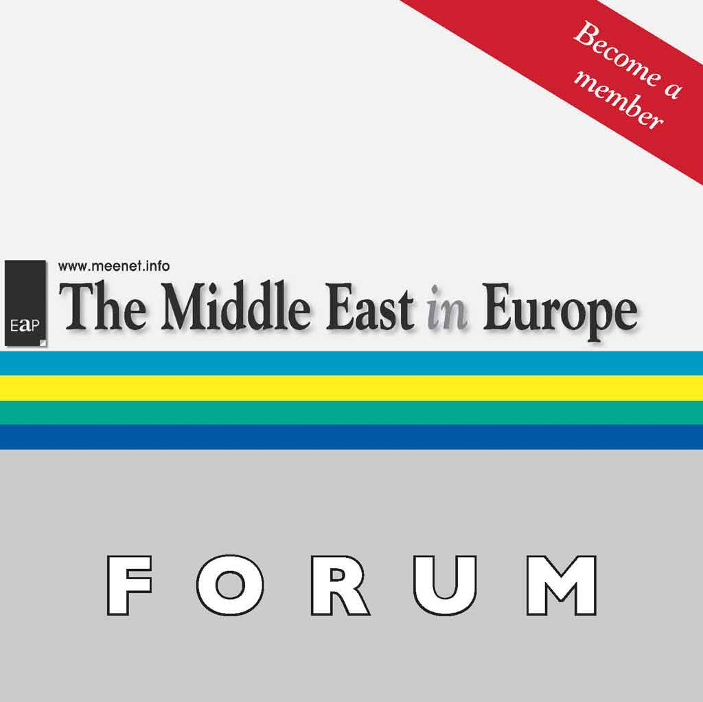 The Middle East in Europe Forum Membership and Subscription Options