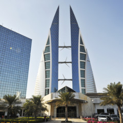 Bahrain downgrade weighed in the City