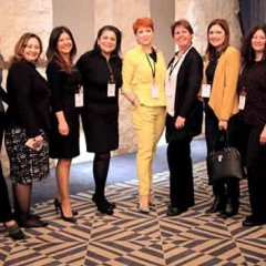 Turkish business women helped with mentoring