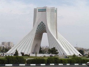 Azadi Monument, Tehran. Photo: Wikimedia Commons