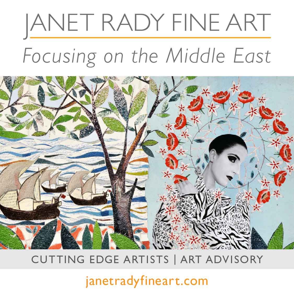 Janet Rady Fine Art Cutting Edge Artists | Art Avisory
