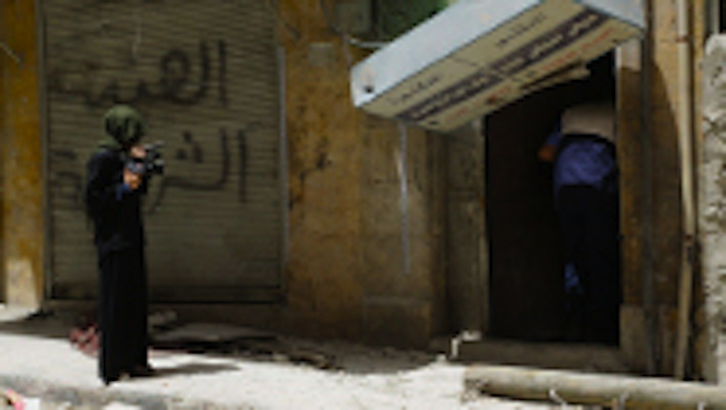 Syria's Rebellion Women, a series of documentaries directed by Zaina Erhaim