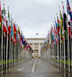 The UN headquarters, Geneva