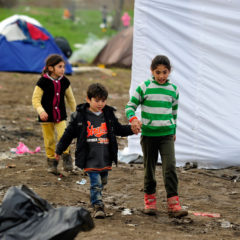 Child refugees in Europe 'falling between cracks'